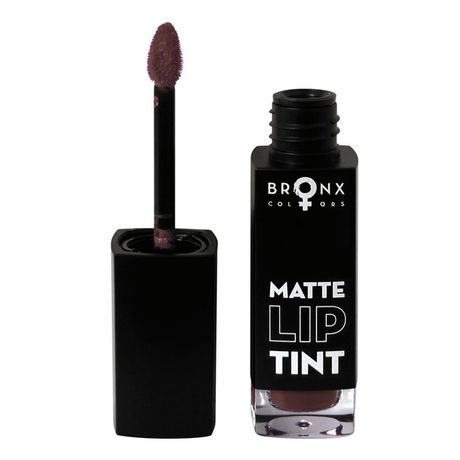 Bronx Colors Matte Lip Tint rúž 5 ml, Dark Mauve