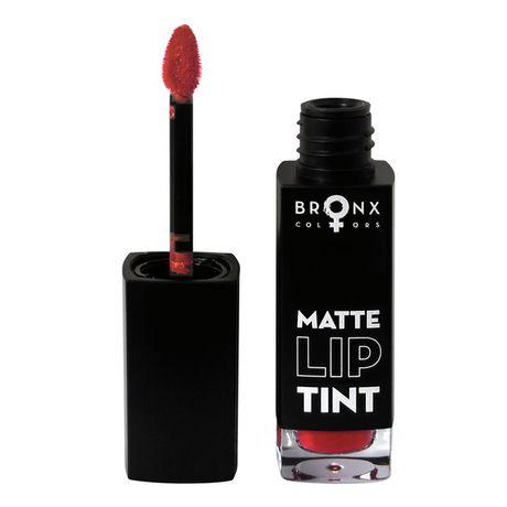 Bronx Colors Matte Lip Tint rúž 5 ml, Red Wine