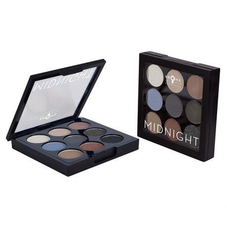 Bronx Colors Midnight Palette očný tieň 4.5 g, Midnight
