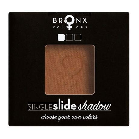 Bronx Colors Single Click Shadow očný tieň 2 g, Chestnut