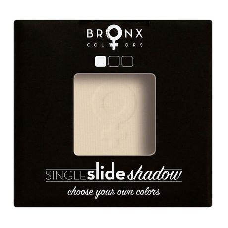 Bronx Colors Single Click Shadow očný tieň 2 g, Dutch White