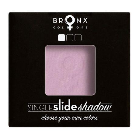 Bronx Colors Single Click Shadow očný tieň 2 g, Lavender