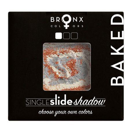 Bronx Colors Single Slide Baked Shadow očný tieň 2 g, 02 Jupiter