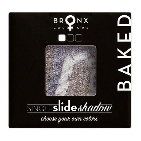 Bronx Colors Single Slide Baked Shadow očný tieň 2 g, Mercury