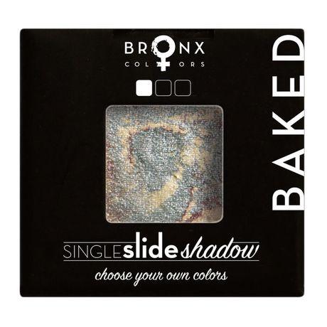 Bronx Colors Single Slide Baked Shadow očný tieň 2 g, Moon