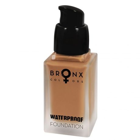 Bronx Colors Waterproof Foundation make-up 20 ml, Cacao