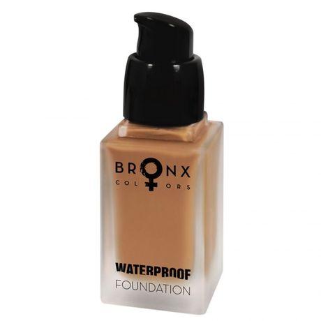 Bronx Colors Waterproof Foundation make-up 20 ml, Light Beige