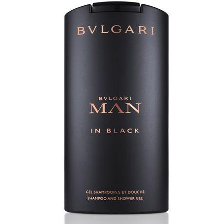 Bvlgari Man In Black sprchový gél 200 ml