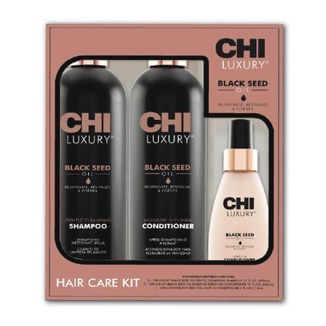 CHI Luxury Black Seed Oil kazeta, šampón 355 ml + kondicionér 355 ml + kondicionér 118ml