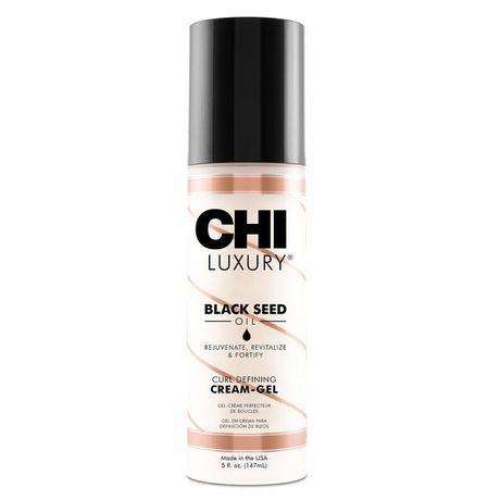 CHI Luxury Black Seed Oil vlasový prípravok 147 ml, Curl Defining Cream Gel