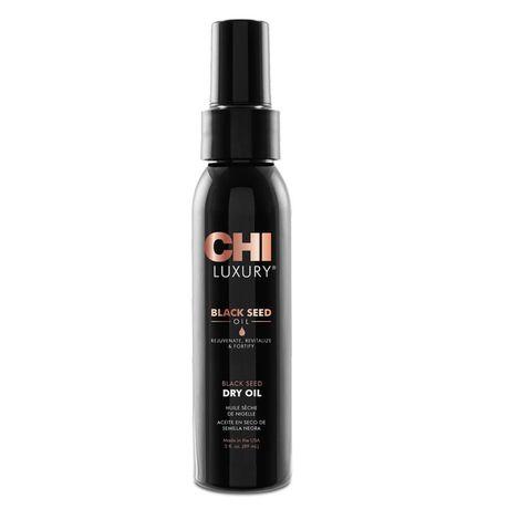 CHI Luxury Black Seed Oil vlasový prípravok 89 ml, Black Seed Dry Oil