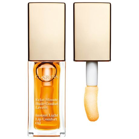 Clarins Instant Light Lip Comfort Oil olej na pery 7 ml, 01 Honey