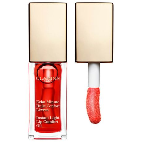Clarins Instant Light Lip Comfort Oil olej na pery 7 ml, 03 Red Berry