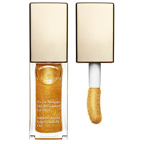 Clarins Instant Light Lip Comfort Oil olej na pery 7 ml, 07 Honey Glam