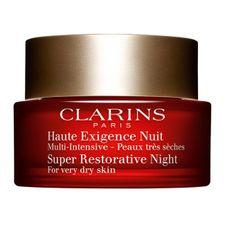 Clarins Super Restorative Care nočný krém 50 ml, Night Cream Dry Skin Types