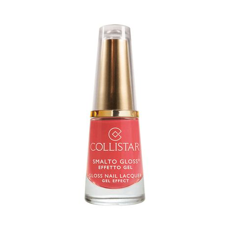 Collistar Gloss Nail Lacquer Gel Effect lak na nechty 6 ml, 541 Coral Treasure