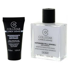 Collistar Men balzam po holení 100 ml, Sensitive Skins After-Shave 100 ml + Daily Protect.Super.30 ml