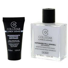 Collistar Men balzam po holení 100 ml, Sensitive Skins After-Shave 100 ml + Daily Protect.Super.30 ml