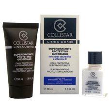 Collistar Men krém 50 ml, Daily Protective Supermoisturizer 50 ml + Sensitive Skins After Shave 15 ml