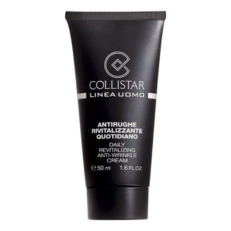 Collistar Men krém 50 ml, Daily Revitalizing Anti-Wrinkle Cream 50 ml + A.Attiva7,5 ml