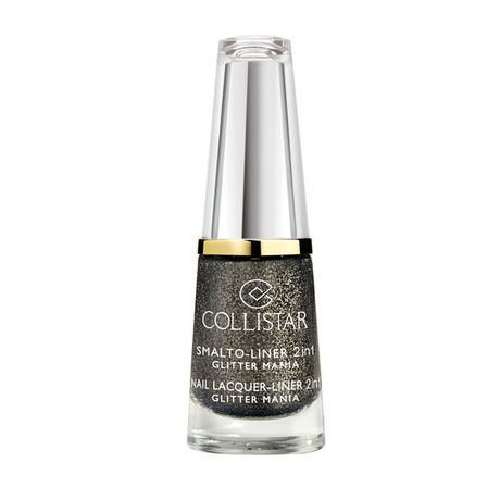 Collistar Nail Lacquer Liner 2in1 lak na nechty 6 ml, 2 Black