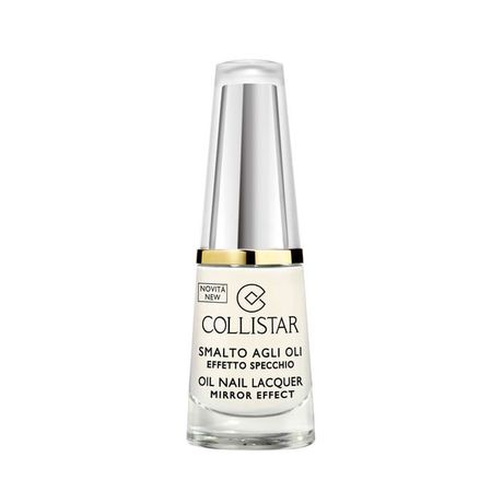 Collistar Oil Nail Lacquer Mirror Effect lak na nechty 6 ml, 302 Bianco Latte