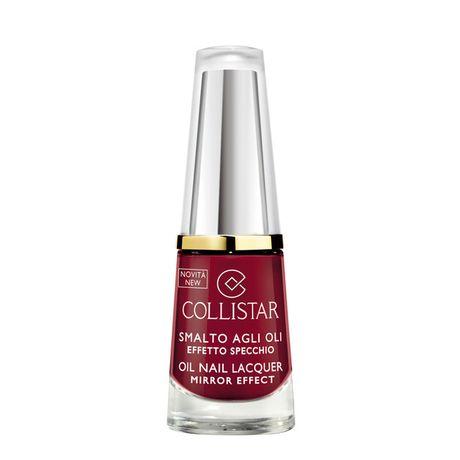 Collistar Oil Nail Lacquer Mirror Effect lak na nechty 6 ml, 322 Rosso Lacca