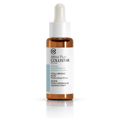 Collistar Pure Actives pleťová emulzia 30 ml, Hyaluronic acid moisturizing lifting