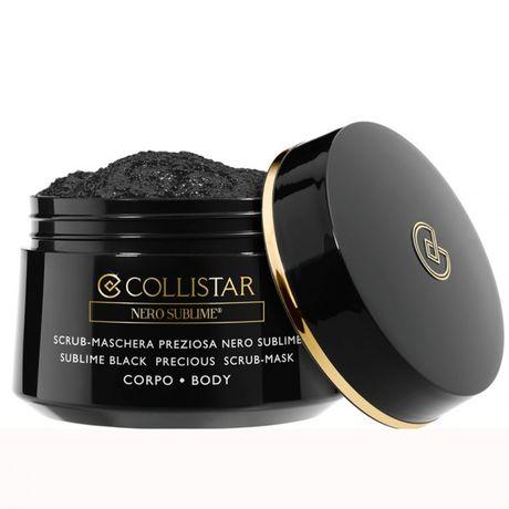 Collistar Sublime Black peelingová maska 450 g, Precious Scrub Mask Body