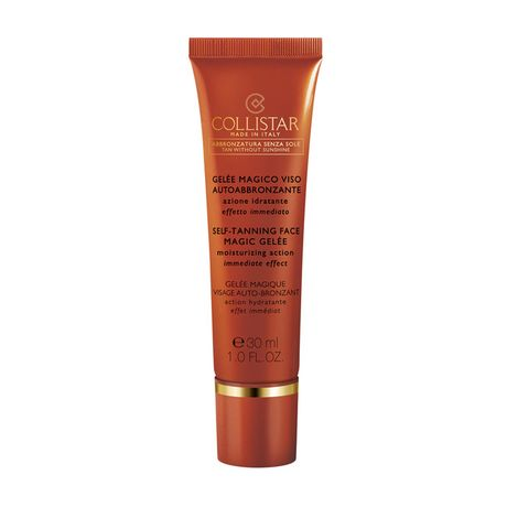 Collistar Sun Linea samoopaľovací gél 30 ml, Self Tanning Face Magic Gelee