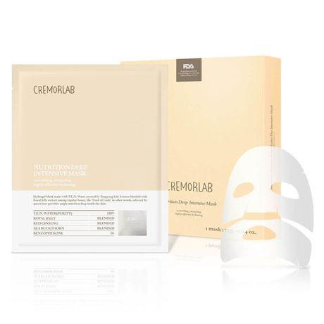 Cremorlab T.E.N. Cremor pleťová maska 1 ks, Nutrition Deep Intensive Mask