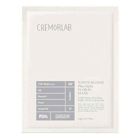 Cremorlab T.E.N. Cremor pleťová maska 25 g, White Bloom Triple Bright Floral Mask