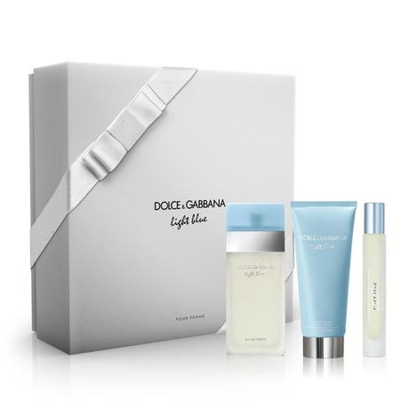 Dolce & Gabbana Light Blue kazeta, EdT 50 ml + TM 50 ml + sprej 10 ml