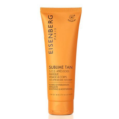 Eisenberg Sublime Tan gél po opaľovaní 100 ml, S.O.S. After Sun Mask Face & Body
