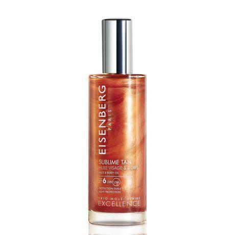 Eisenberg Sublime Tan opaľovací olej 100 ml, Face & Body Oil SPF6