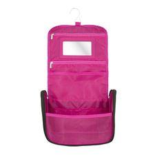 Elle Travel doplnkový tovar 1 ks, Black Nylon Cosmetic Case With Hook