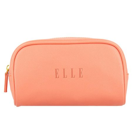 Elle Travel taška 1 ks, Small Leatherette Pouch Coral