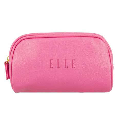 Elle Travel taška 1 ks, Small Leatherette Pouch Pink
