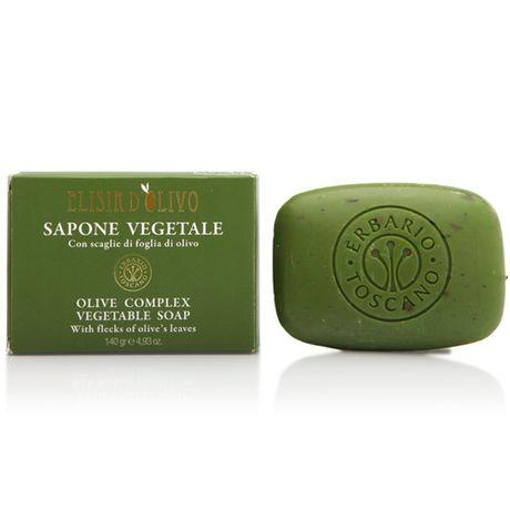 Erbario Toscano Olive Complex mydlo 140 g