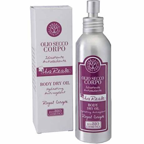 Erbario Toscano Royal Grape telový olej 125 ml