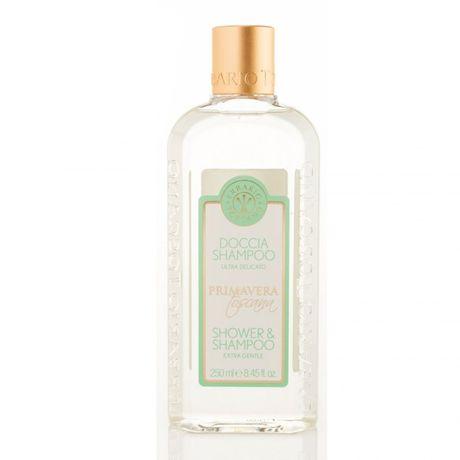 Erbario Toscano Tuscan Spring sprchový gél 250 ml, Shower Gel & Shampoo Extra Gentle