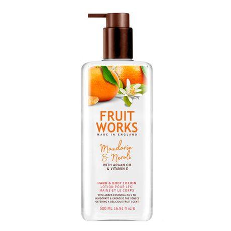 Fruit Works Mandarin & Neroli krém na ruky 500 ml, Hand & Body Lotion
