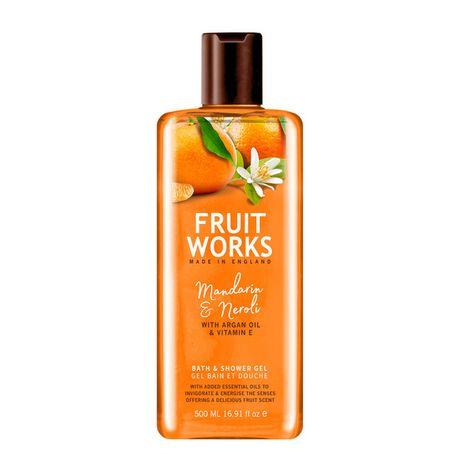 Fruit Works Mandarin & Neroli sprchový gél 500 ml, Bath & Shower Gel