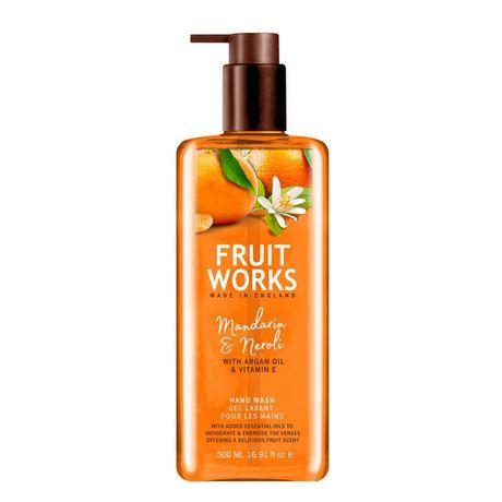 Fruit Works Mandarin & Neroli tekuté mydlo 500 ml, Hand Wash
