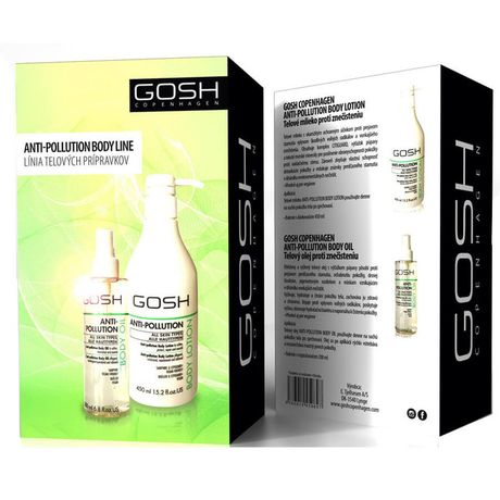 Gosh Anti-Pollution kazeta, TM 450 ml + telový olej 200 ml