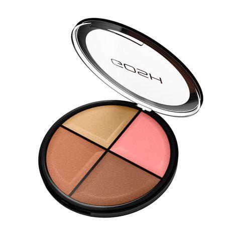 Gosh Contour'n Strobe Kit make-up 15 g, 02 Medium