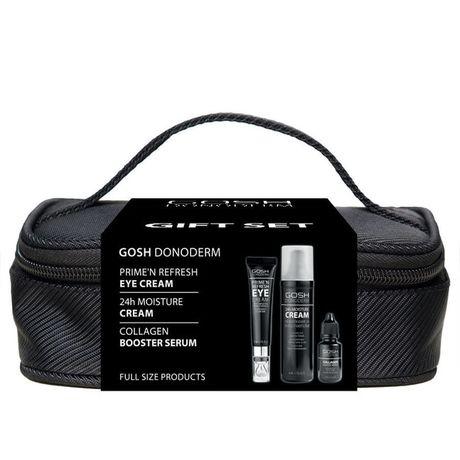 Gosh Donoderm kazeta, 24h Moisture Cream + Prime´n Refresh Eye Cream + Collagen Booster Serum