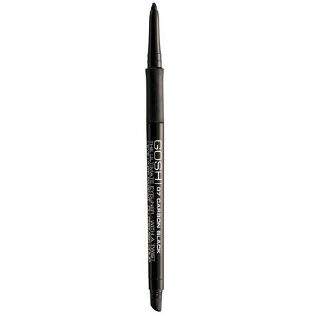 Gosh Ultimate Eyeliner with a Twist ceruzka na oči 0.4 g, Carbon Black
