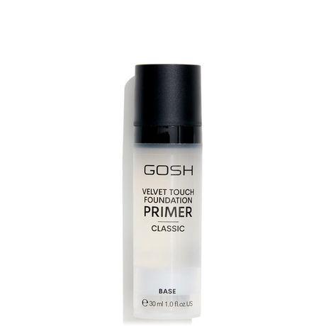 Gosh Velvet Touch Foundation Primer Clear kozmetika, Clear