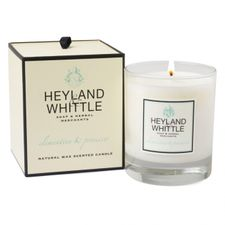 Heyland & Whittle Glass sviečka 230 g, Clementine & Prosecco